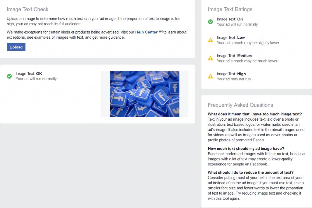 Facebook Text Overlay Tool